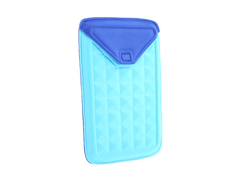 Nuo Tech Molded Sleeve for Kindle Fire (Turquoise Blue/Royal Blue) Bags