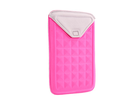 Nuo Tech Molded Sleeve for Kindle Fire (Pink/Grey) Bags