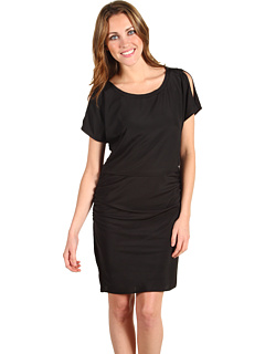 SALE! $44.8 - Save $83 on Jessica Simpson Peekaboo Sleeve Dress (Black) Apparel - 65.00% OFF $128.00