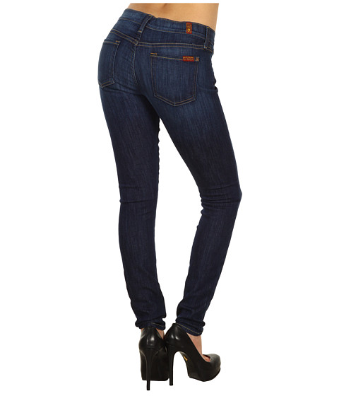 7 For All Mankind - The Skinny in Nouveau New York Dark (Nouveau New York Dark) Women