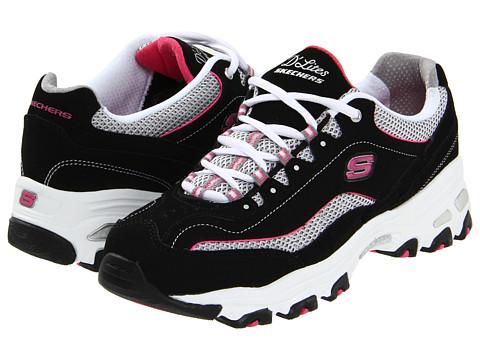 SKECHERS - D'Lites-Centennial (Black) Women's Shoes