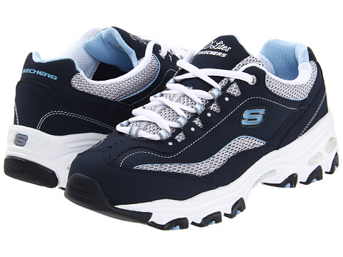 SKECHERS - D'Lites-Centennial (Navy/White) Women's Shoes