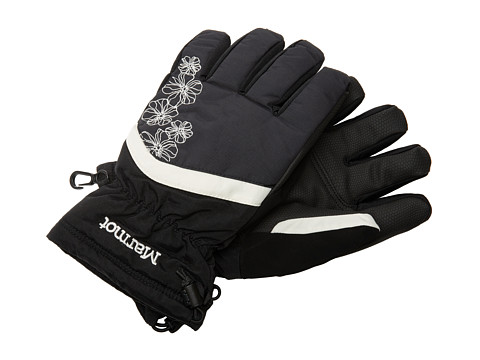 Marmot Kids - Girl's Glade Glove (Little Kids/Big Kids) (Black) Extreme Cold Weather Gloves