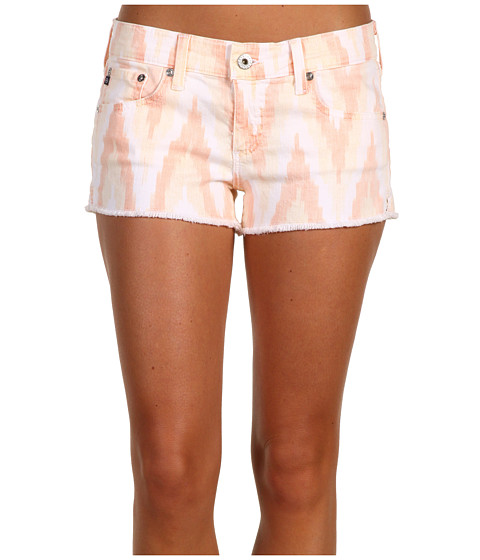 AG Adriano Goldschmied - Daisy Short Ikat Twill (Orange) Women