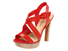 Luxury Rebel - Chantal (Coral Red Leather) - Footwear