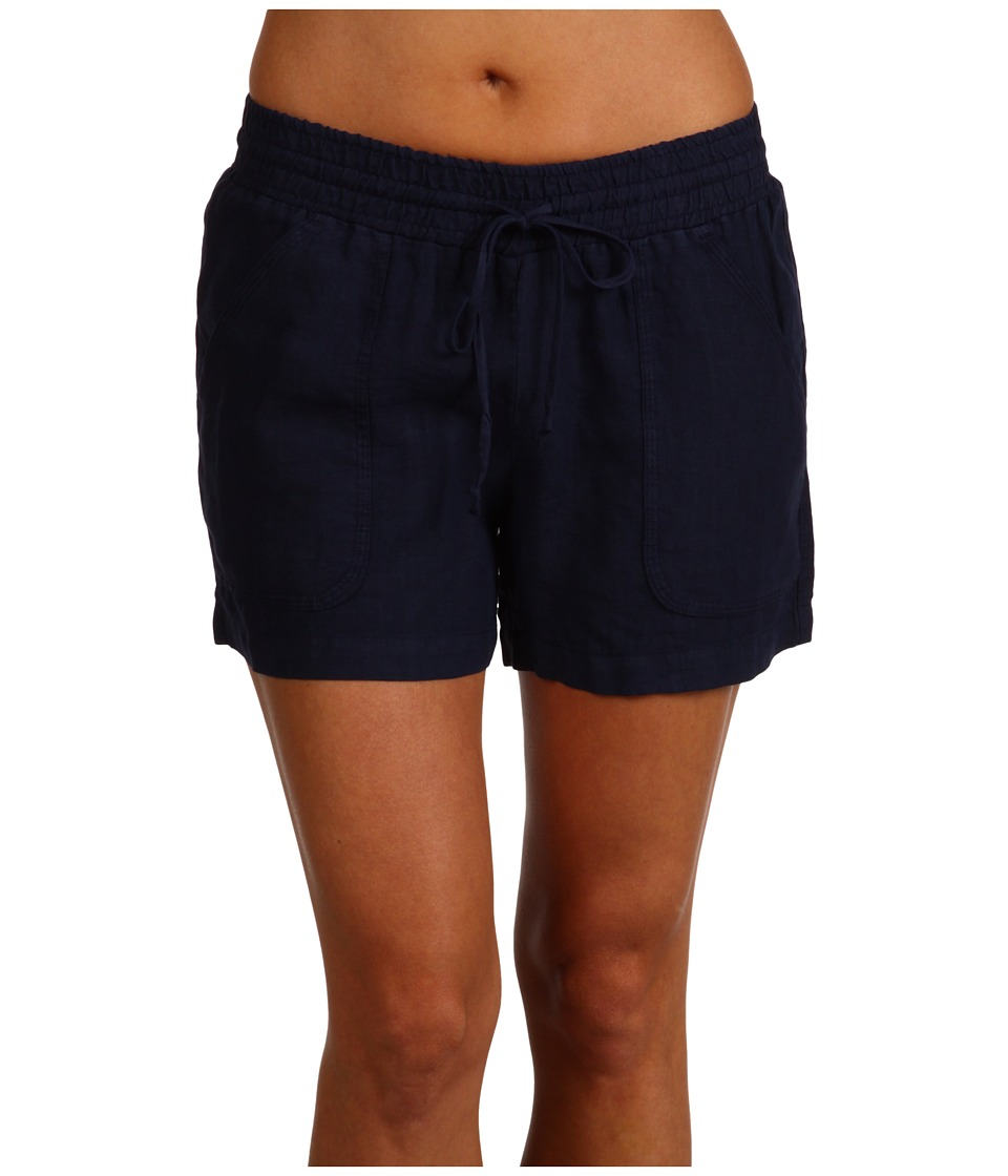 Allen Allen - Linen Short (Lapis) Women's Shorts