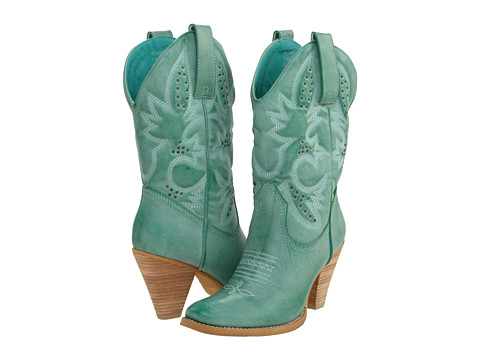 VOLATILE - Denver (Aqua/Blue) Women's Dress Pull-on Boots