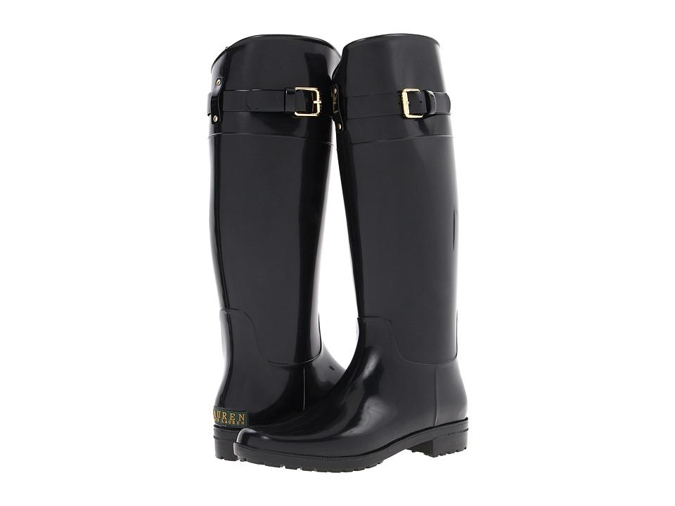 LAUREN Ralph Lauren - Rossalyn II (Black PVC) Women's Rain Boots