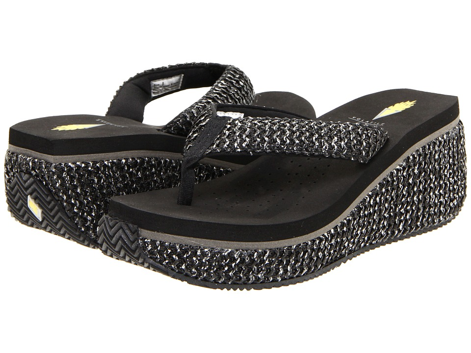 VOLATILE - Tanorama (Black) Women's Dress Sandals