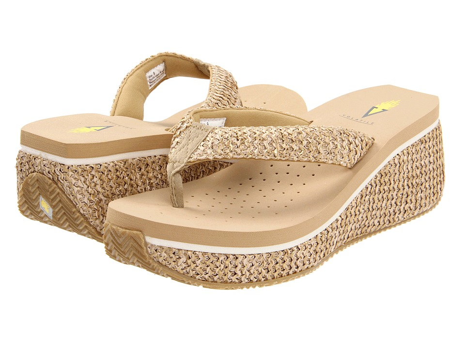 VOLATILE - Tanorama (Natural) Women's Dress Sandals