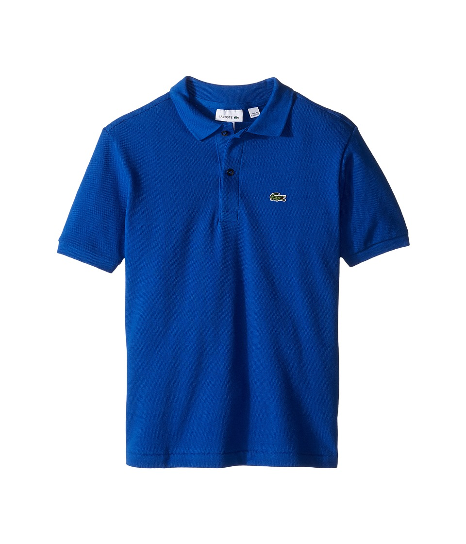 Lacoste Kids - Short Sleeve Classic Pique Polo Shirt (Toddler/Little Kids/Big Kids) (Steamer) Boy's Short Sleeve Pullover