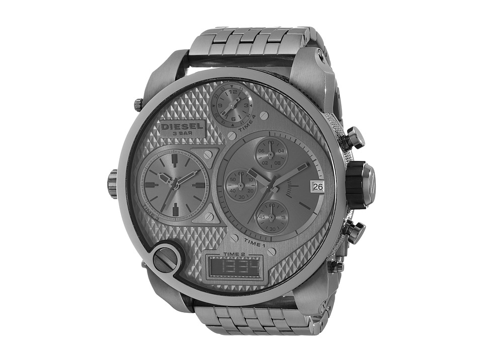 Diesel - Mr Daddy DZ7247 (Gunmetal/Gunmetal) Analog Watches