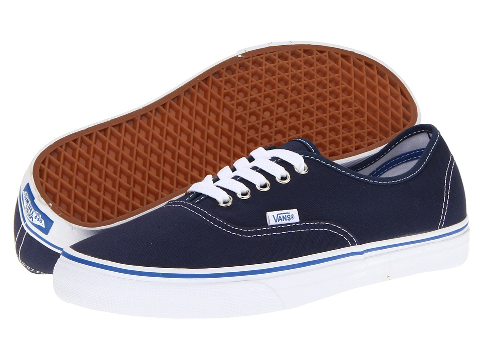Vans - Authentic Core Classics (Dress Blues/Nautical Blue) Skate Shoes