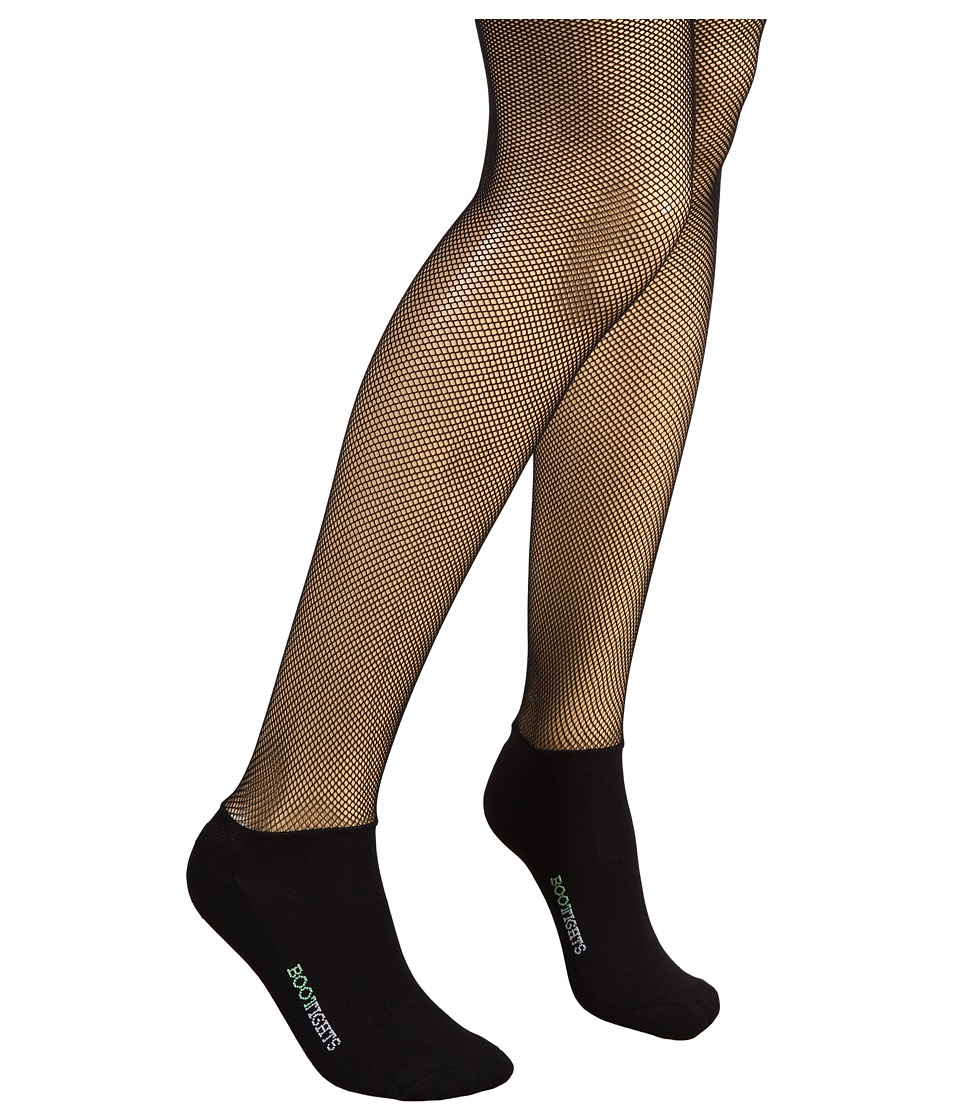 BOOTIGHTS - Netscape Micro-Fishnet/Ankle Sock (Black) Hose