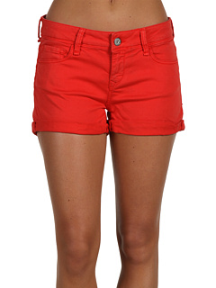 SALE! $17.99 - Save $60 on Mavi Jeans Tiara Low Rise Cuffed Short in Cardinal Red (Cardinal Red) Apparel - 76.94% OFF $78.00