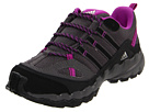 adidas Kids - AX 1 (Toddler/Youth) (Sharp Grey/Black/Ultra Purple) - Footwear