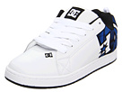 DC - Court Graffik SE (White/Nautical Blue) - Footwear