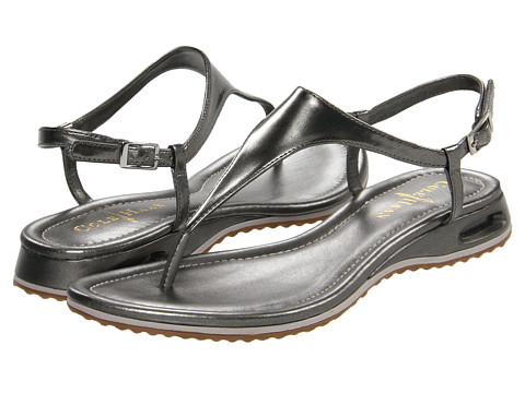 Cole Haan Air Bria Thong Sandal (Gunsmoke) Women's Sandals