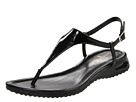 Cole Haan - Air Bria Thong Sandal (Black Patent) - Cole Haan Shoes