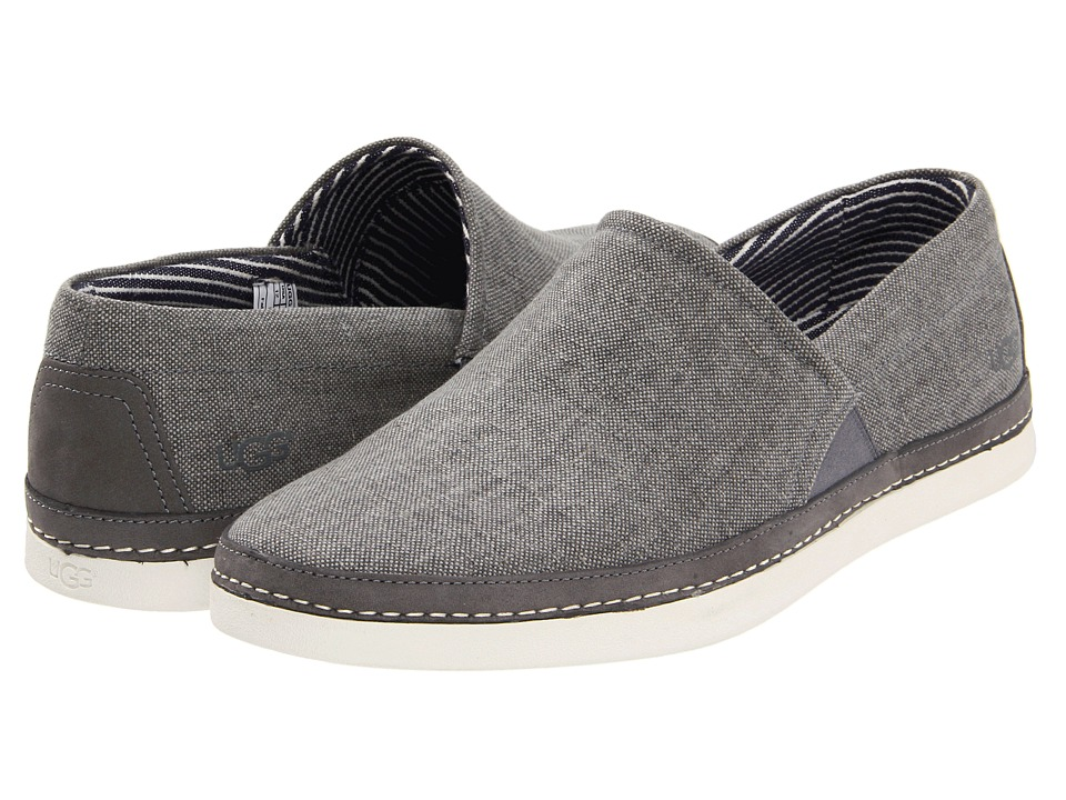 UGG - Reefton Canvas (Metal Canvas) Men's Slip on Shoes