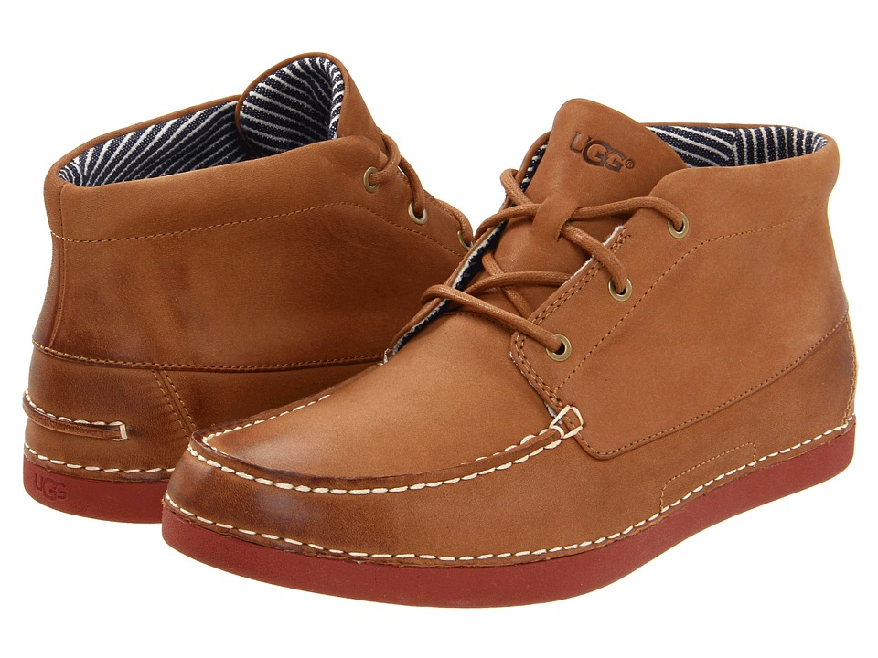 UGG - Kaldwell (Chestnut Leather) Men's Lace up casual Shoes