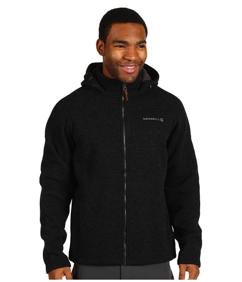 Merrell - Big Sky Hoodie (Black) Men's Coat