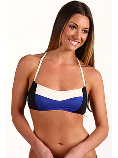 SALE! $36.99 - Save $35 on DKNY Colorblock Cami Halter (New Blue) Apparel - 48.62% OFF $72.00