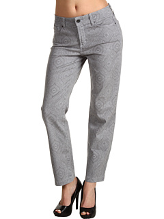 SALE! $44.99 - Save $65 on NYDJ Audrey Relaxed Ankle Henna Print (Dove Grey) Apparel - 59.10% OFF $110.00