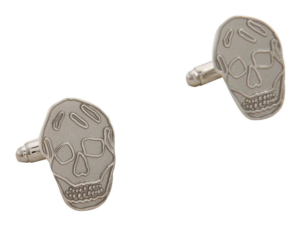 Alexander McQueen - Skull Cufflinks (Silver) Cuff Links