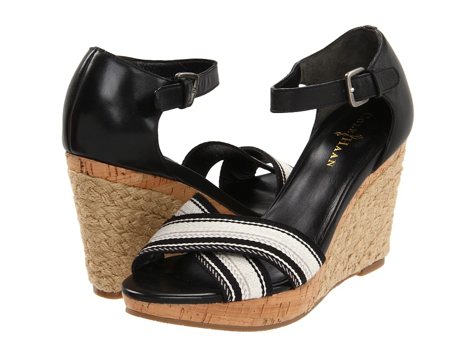 Cole Haan - Air Tamsyn Sandal (Black/Black Multi Web) Women