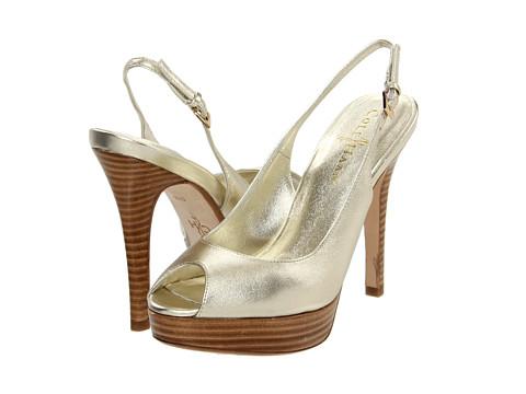Cole Haan - Mariela Air OT Sling (Soft Gold Metallic) Women