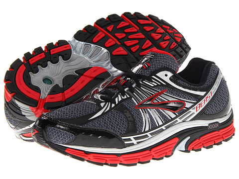 Brooks - Beast '12 (Slam/Pavement/Black) Men's Running Shoes