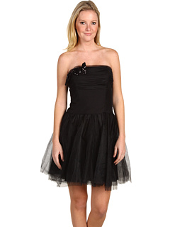 Strapless Black Dress on On Sale   Now  93   Was  310