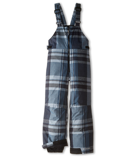 Columbia Kids - Snow Slope Bib (Little Kids) (Mystery Plaid) Boy