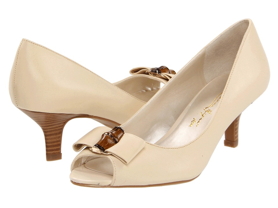 Etienne Aigner - Violet (Pale Ivory) Women's Dress Sandals