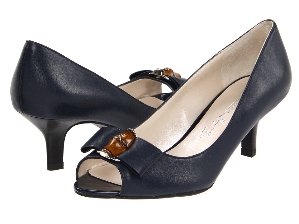 Etienne Aigner - Violet (Inky Navy) Women's Dress Sandals