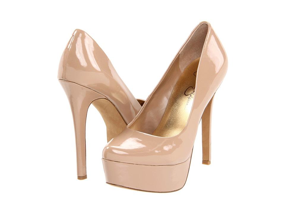 Jessica Simpson - Waleo (Nude Patent) High Heels
