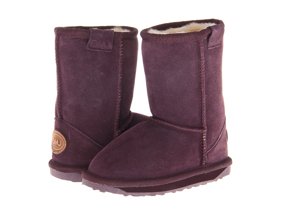 EMU Australia Kids - Wallaby Lo (Toddler/Little Kid) (Purple) Girls Shoes