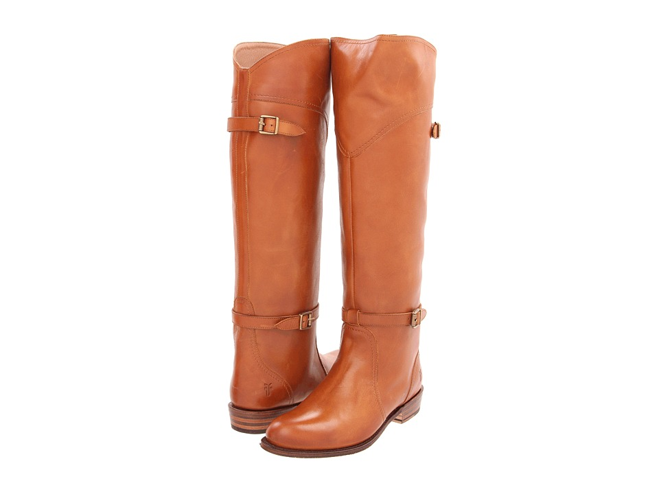 Frye - Dorado Riding (Cognac Full Grain Brush Off) Women's Pull-on Boots