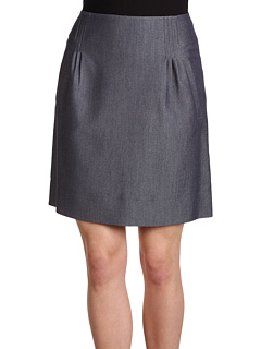 SALE! $36.99 - Save $52 on Anne Klein Indigo Twill Skirt w Pleats (Indigo) Apparel - 58.44% OFF $89.00