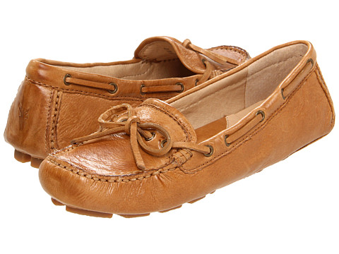 Frye - Reagan Campus Driver (Camel Soft Vintage Leather) Women