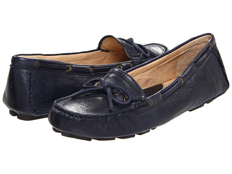 Frye - Reagan Campus Driver (Navy Soft Vintage Leather) Women