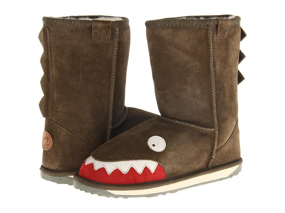 EMU Australia Kids - Little Creatures - Croc (Toddler/Little Kid/Big Kid) (Olive) Kids Shoes