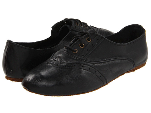 Walk-Over - Vintage Collection - Aubrey (Black Harness) Women's Lace Up Wing Tip Shoes