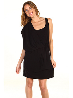 SALE! $29.99 - Save $109 on DKNYC Asymmetrical Racerback Dress (Black) Apparel - 78.42% OFF $139.00