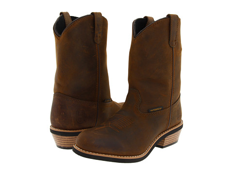Dan Post Kids - Water Dog (Toddler/Little Kid) (Tan Distressed) Cowboy Boots