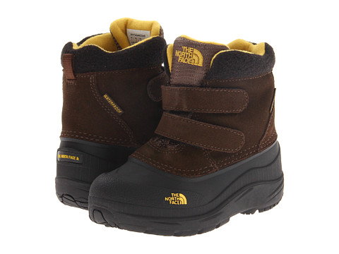 The North Face Kids - Chilkat (Toddler) (Slate Black Brown/TNF Black) Boys Shoes