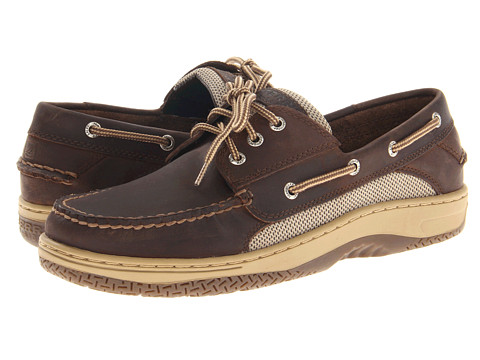 Sperry Top-Sider - Billfish 3-Eye Boat Shoe (Dark Brown) Men's Lace up casual Shoes