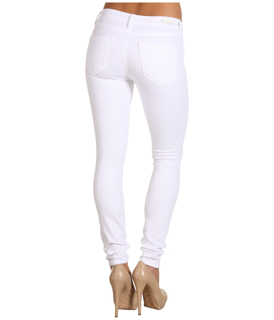 Blank NYC Spray-on Skinny in White Lines (White Lines) Women