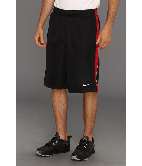 Nike - New Layup Short (Black/Gym Red/White/White) Men